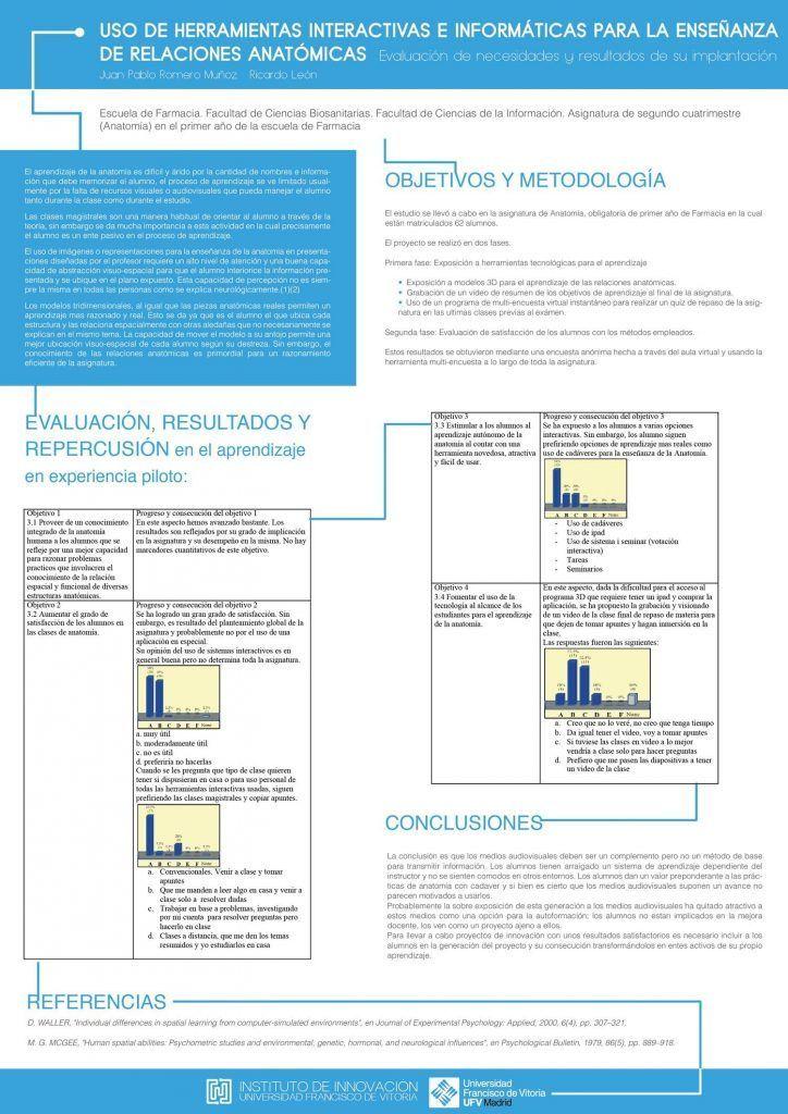 Posters proyectos - Instituto de innovación