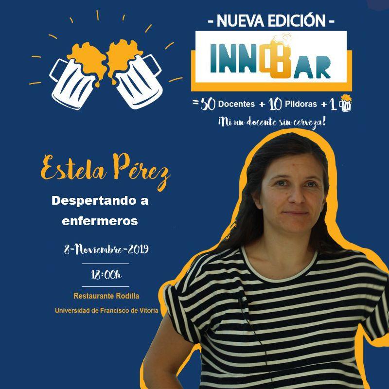 Estela Pérez en InnoBar UFV