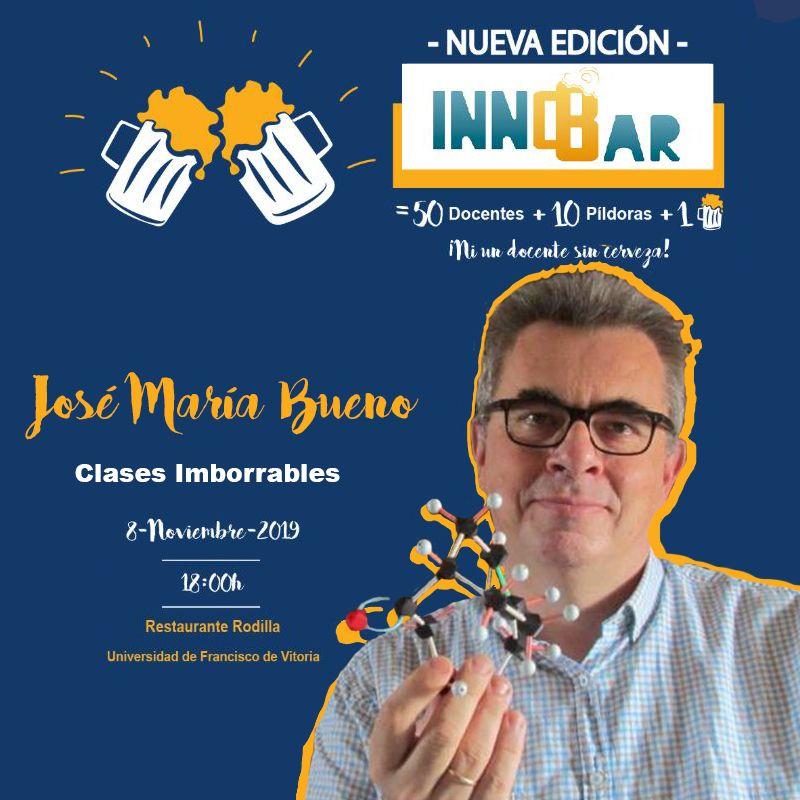 José María Bueno Calderón en InnoBar UFV