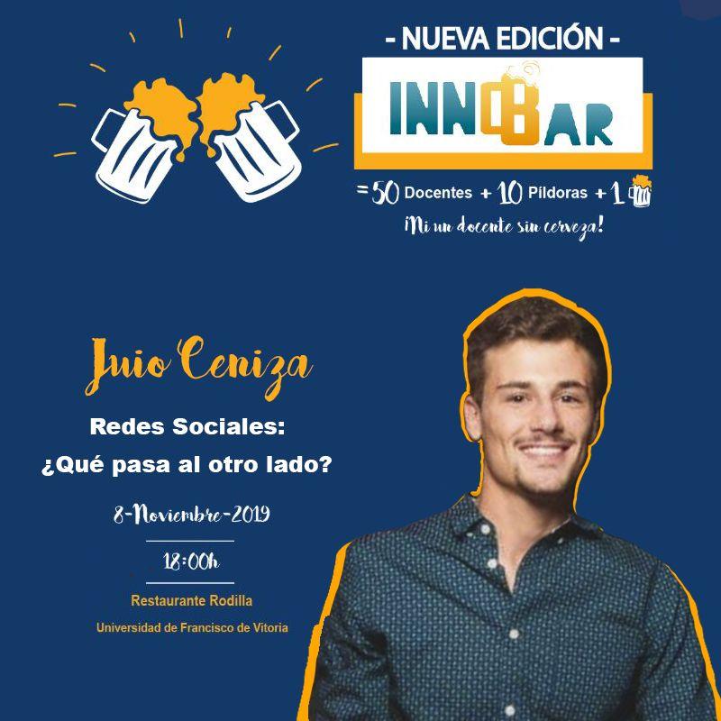 Julio Ceniza en InnoBar UFV