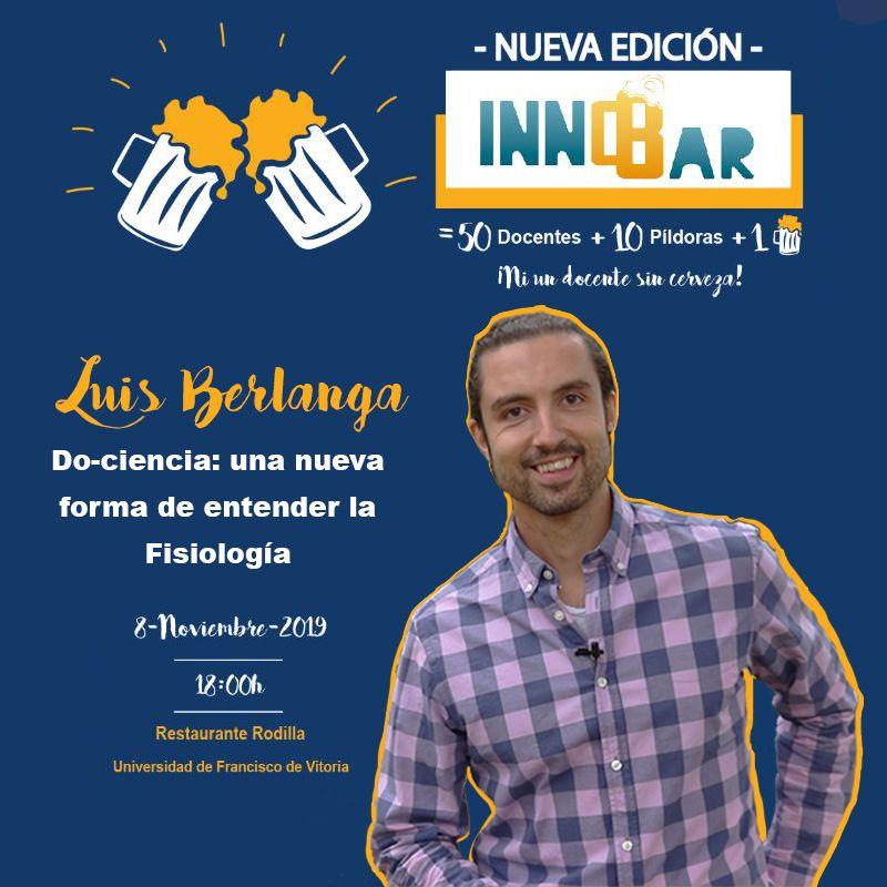 Luis Berlanga en InnoBar UFV