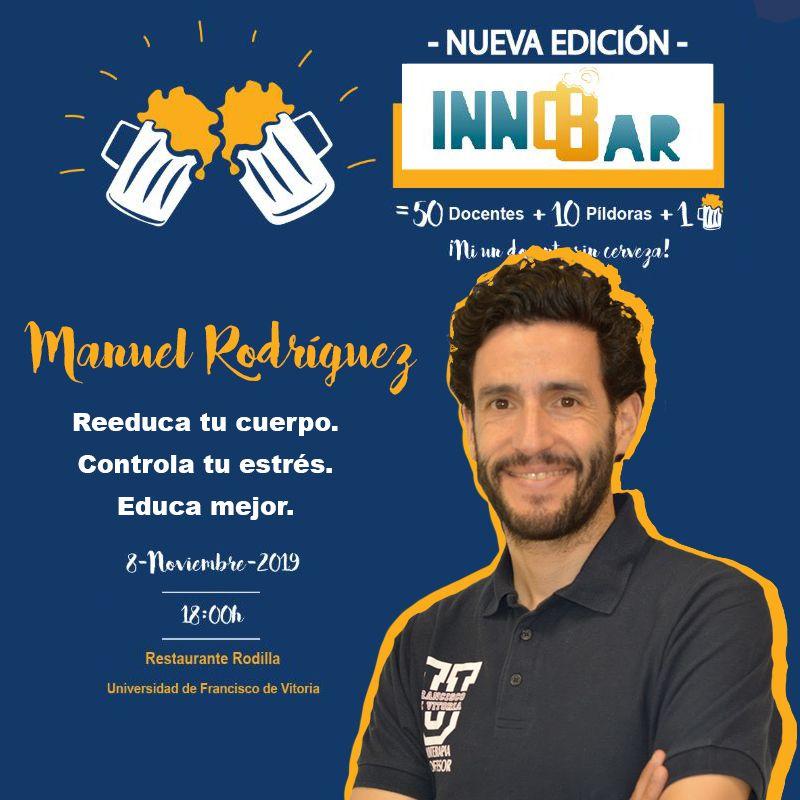Manuel J. Rodríguez Aragón en InnoBar UFV