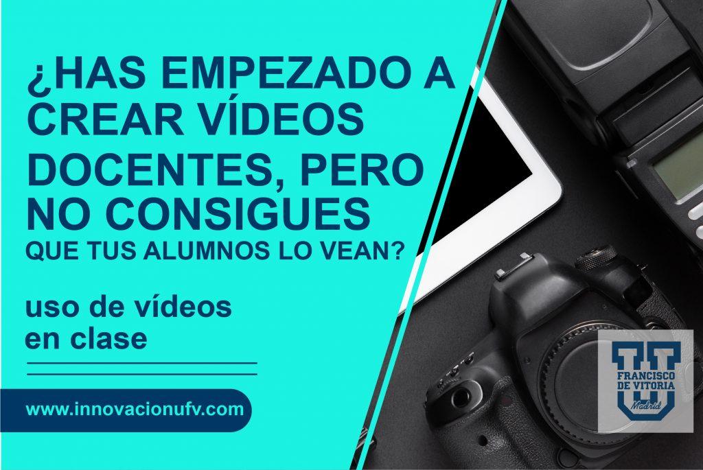 uso de vídeo docente en educación