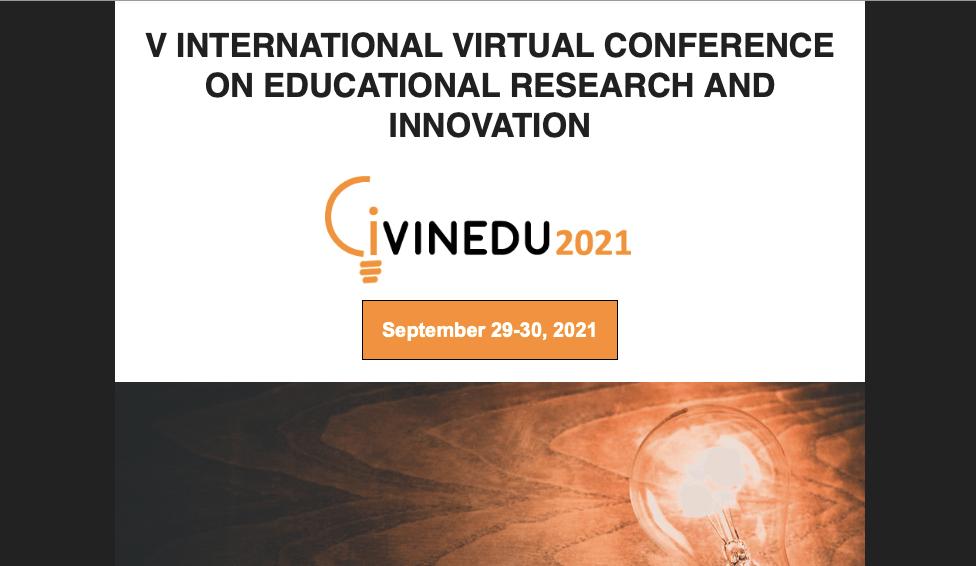V Congreso Internacional Virtual en investigación e innovación educativa